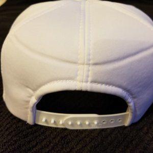 Otto Accessories - Otto Caps White Lot of 14 Adjustable Size New